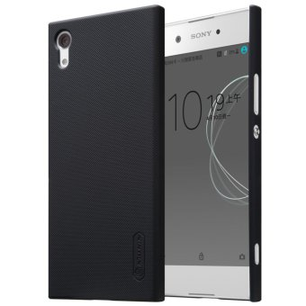 Sony Xperia XA1 Case, Nillkin Super Frosted Shield with ScreenProtector Matte Ultra Thin Protective Shell PC Hard Back Case Coverfor Sony Xperia XA1 (Black) - intl