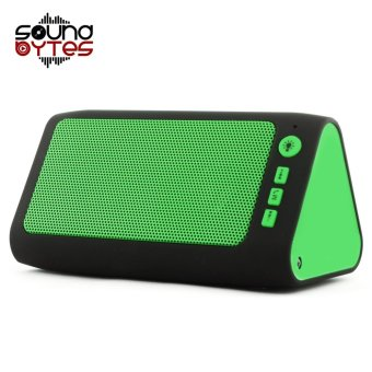 Sound Bytes Prime HLY-66 Bluetooth Speaker with Flashlight (Green)