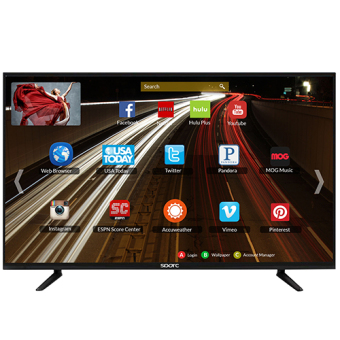 """SPARC S3200S 32"""" Slim Smart LED HDTV with free Wall Mount Bracket"""