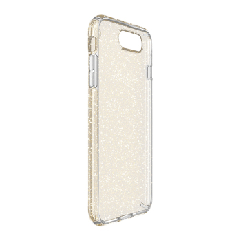 Speck Presidio Clear + Glitter Phone Case for iP7 Plus (GoldGlitter/Clear) - 3