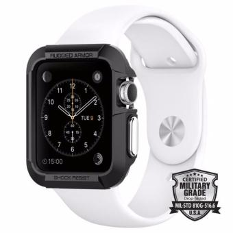 Spigen Apple Watch Series 3/ 2/ 1 (42mm) Case Rugged Armor Black