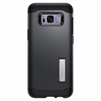 Spigen Galaxy S8 Case Slim Armor Metal Slate - 3