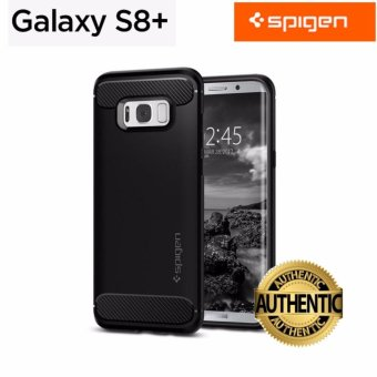 Spigen Rugged Armor Case For SAMSUNG Galaxy S8 Plus 100% Authentic - intl