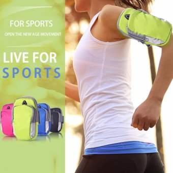 Sports Armband Phone Bag Case Fitness Jogging Running Arm Band Bag Pouch - intl - 2