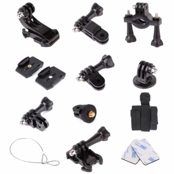 Sports Dv Fitting Monopod Mount Kit For Gopro Hero And SjcamSj4000/Sj5000 Action Sports Cameras (Black)