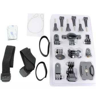 Sports DV Fitting Mounting kits for Action Cameras (Black)