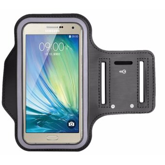 Sports Neoprene Gym Armband Cover for Samsung Galaxy J7 Prime(Black)