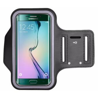 Sports Neoprene Gym Armband Cover for Samsung Galaxy S6 Edge(Black) Price Philippines