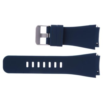 Sports Silicone Bracelet Strap Band For Samsung Gear S3 Watch(Blue) - intl - 4