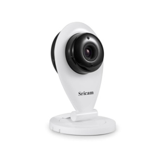 Sricam SP009 1280x720 720p HD Indoor Wireless Security Camera (White) Set of 4 - 2
