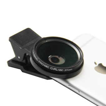 Star 37mm/37mm rotating wide-angle macro fish eye clip mobile phone Lens