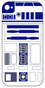 Star Wars R2D2 Hard Case for iPhone SE/5S/5