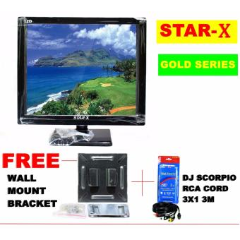 STAR-X 22-Inch LED TV GOLD SERIES energy saving AC/DC Operated withFull HD 1080p Price Philippines