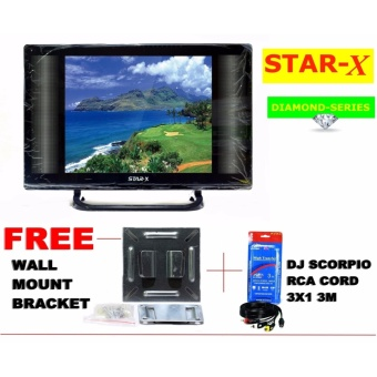 STAR-X 24-Inch LED TV DIAMOND SERIES energy saving AC/DC Operatedwith Full HD 1080p Price Philippines