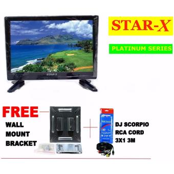 STAR-X 27-Inch LED TV PLATINUM SERIES energy saving AC/DC Operated with Full HD 1080p Price Philippines