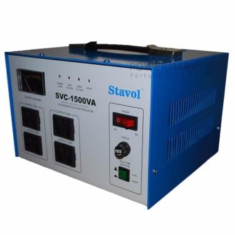 Stavol SVC-1500VA AVR 1,500 Watts Automatic Voltage Regulator