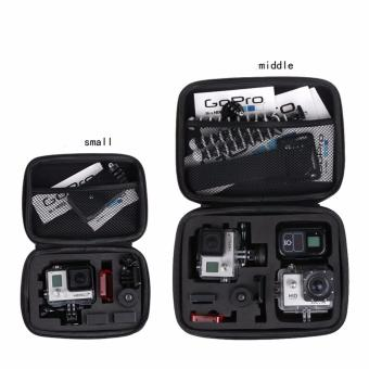 Storage Collection Waterproof Bag Case S M L Size for Go Pro Hero 54 3+ SJ4000 Xiaoyi Action Camera Accessories - 4