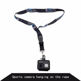 Straps Hanging Rope 60 cm Widened Lanyard Action Camera Neck SafetyStrap for Go pro 5 4 3 Yi 4k SJCAM SJ4000 EKEN Action Sport CameraAccessories