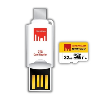 Strontium Nitro Class 10 32GB Micro SD Card with OTG Reader