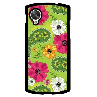 Sun Flower Phone Case for LG Nexus 5 (Black)