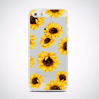 Sunflower high quality Printed soft tpu case for iPhone 5/5s/Se