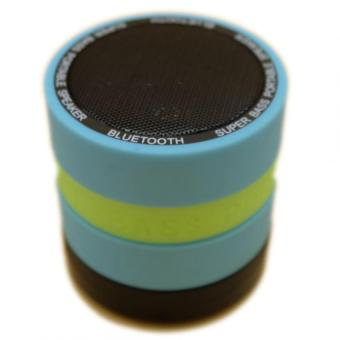 Super Bass Portable Speaker (Blue) - 3