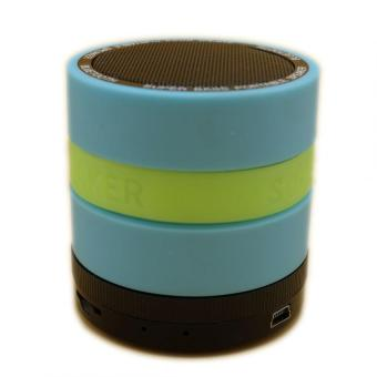 Super Bass Portable Speaker (Blue) - 4
