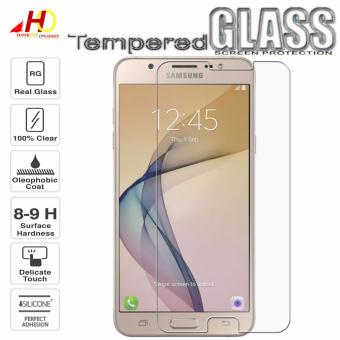 Super Tempered Glass Screen Protector for Samsung Galaxy J7 Prime(Clear)