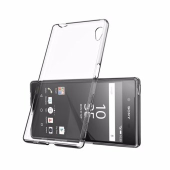 Super Thin Dirt-resistant Clear Transparent Silicone Soft TPU Phone Case For Sony Xperia Z1