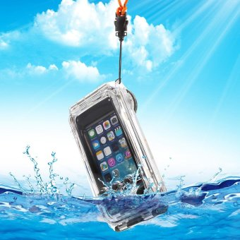 Super-tough IPX8 40m Waterproof Diving Case for iPhone SE 5s 5 - Black - intl