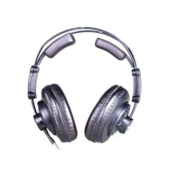 Superlux HD668B Semi-open Dynamic Professional Studio StandardMonitoring Headphones For DJ Music Detachable Audio Cable - Intl