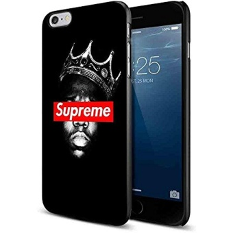 supreme crowns notorious for Iphone and Samsung Galaxy Case (iPhone6/6s black) - intl Price Philippines