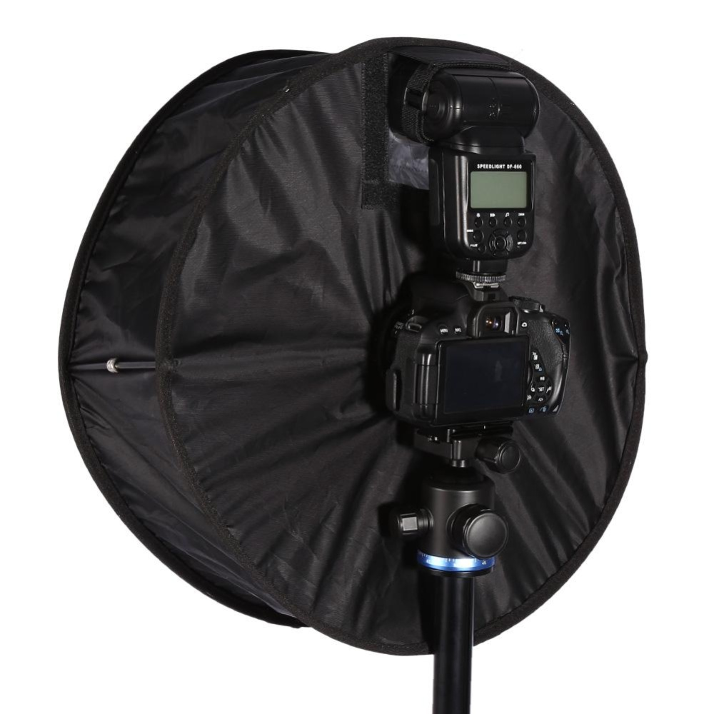 ... Sweatbuy Easy-Fold Round Collapsible Ring Flash Diffuser SoftboxFor Macro and Portrait Photography - intl ...