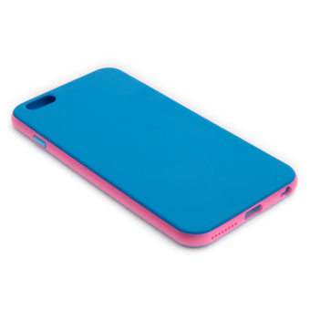 Swisstech Fullerton Case for Apple iPhone 6 Plus/6s Plus (Blue/Pink)