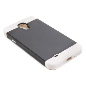 Swisstech Lancaster Case for Samsung Galaxy S4/I9500 (Black/White)
