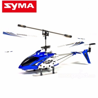 SYMA S107G/S107 GYRO Metal Series 3 CH Infrared RC Mini Helicopter(Blue)
