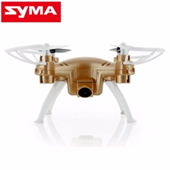 Syma X52C Nano Quadcopter with 2MP 720P HD Camera (Gold)