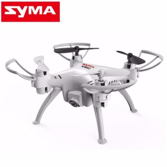SYMA X52C Nano Quadcopter with 2MP 720P HD Camera (White)