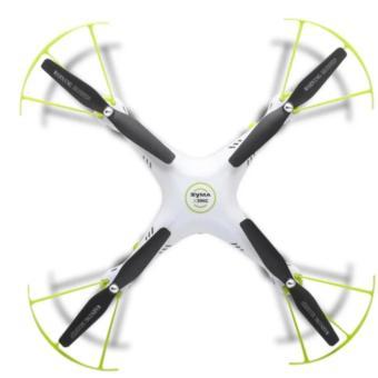SYMA X5HC 2 Mega Pixel Camera 2.4G 4 Channel 6-axis Gyro QuadcopterRTF (Green) - 2