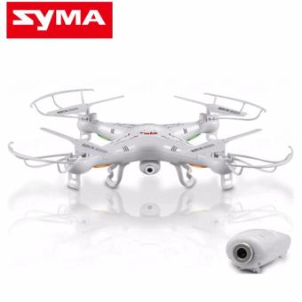Syma X5SC Explorers 4 Channel 2.4GHz R/C 6-Axis Gyro QuadcopterDrone (White)
