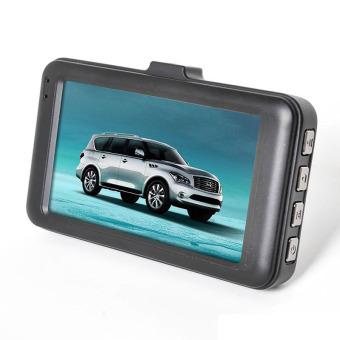 T636 Dual Lens Dash Camera Vehicle Blackbox Dashboard DVR WithG-Sensor - 2