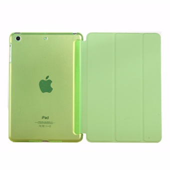 Tablet Cases Cover for Mini iPad 1/2/3 New Slim For iPad mini Case Magnetic Stand PC Case For Apple iPad Mini 123 Smart Protective Back - intl