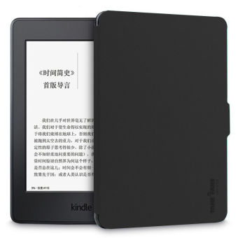 TAKE FANS Premium PU Leather Kindle Case for Amazon All-New Kindle8th Generation 2016 Case (Black)