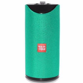 T&G TG113 Super Bass Wireless Bluetooth Speaker (Turquoise) - 3