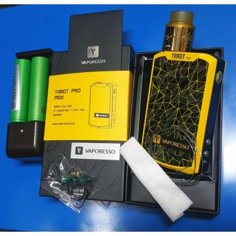 Tarot Pro Vape YELLOW Kit Set Price Philippines