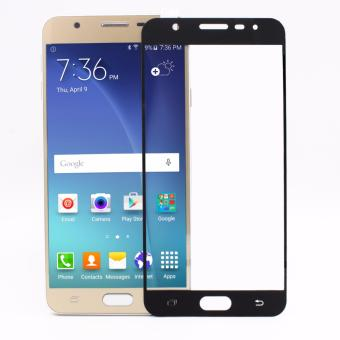 TCF Full Cover Tempered Glass Screen Protector for Samsung GalaxyJ7 Prime