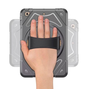 TCF Hard Shell Shock Proof with Built-in Stand Case for iPad Air 2 - 4
