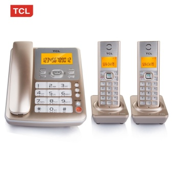 TCL D61 Telephone Digital Cordless Telephone Domestic FixedTelephone Landline Composite Aircraft Yituo TWO - intl