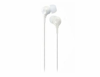 TDK TH-EC200WWH Clef-r Inner Ear Stereo Headphones (White)