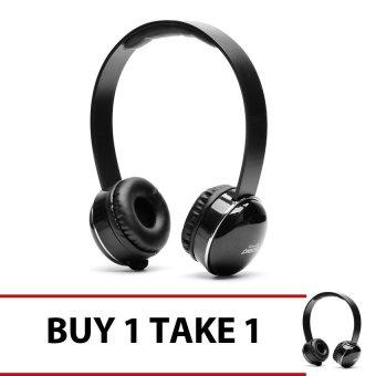 Techno Tamashi TH-T2 Over-the-Ear Headphones (Black) Buy 1 Get 1